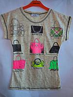 Детская одежда футболка для девочки Monili, фото 1