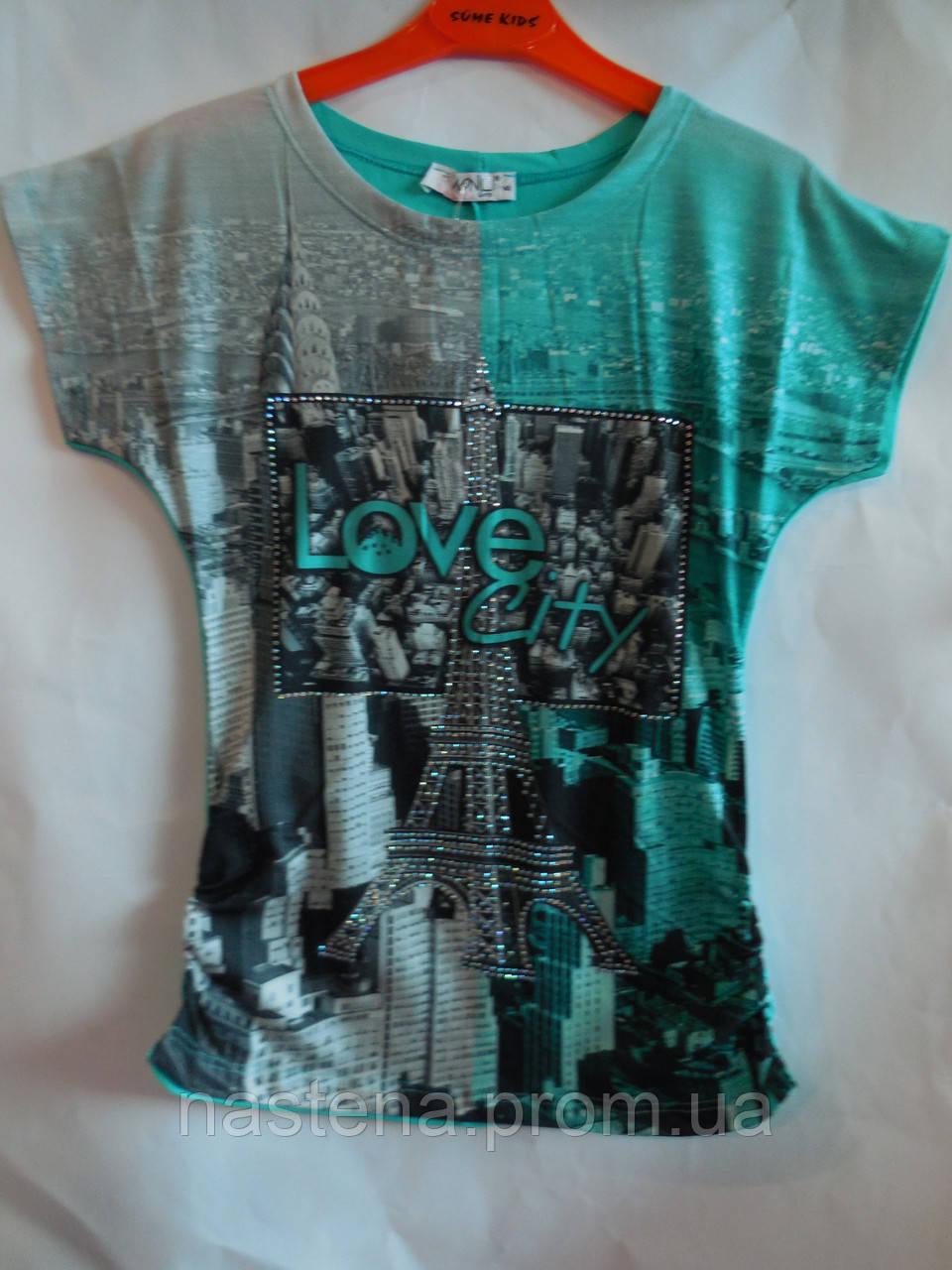 Детская одежда туника для девочки Monili город