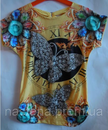 Туника для девочки Monili бабочка