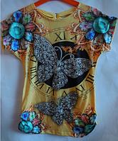 Туника для девочки Monili бабочка, фото 1