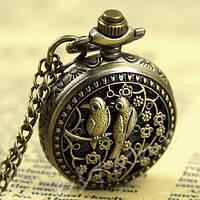 Часы карманные Павлин