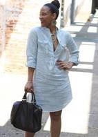 Сукня-сорочка, туніка з натурального льону. Колір на вибір. Батал і стандарт 42-74+ сайз розмір