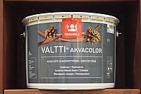 Лессирующий водоразбавляемый состав на масляной основе Валтти Акваколор Тикккурила, база ЕР, 9л