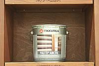 Водоразбавляемая перламутровая лазурь на основе натурального масла Валтти Арктик, база ЕР, 2,7л