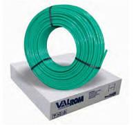 VALROM INDUSTRIE SRL Труба PE-RT tip II, с антидиффуз, D=16x2,0 мм, бухта=500 м, (зеленого цвета)