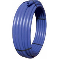 VALROM INDUSTRIE SRL Труба полиэтиленовая PE80, SDR17,6, p=6 бар, d=50 мм, синяя