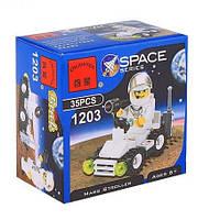 Констр.Brick 1203 Космос с человечком,  35 дет., вразобр.кор.7*7*4, 5 см(360шт)