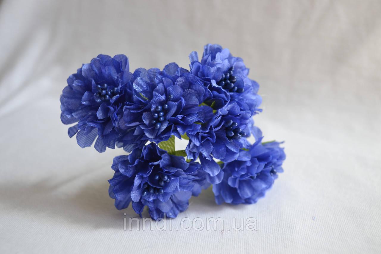 Букет пион синий
