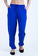 Яркие летние  женские брюки из штапеля.