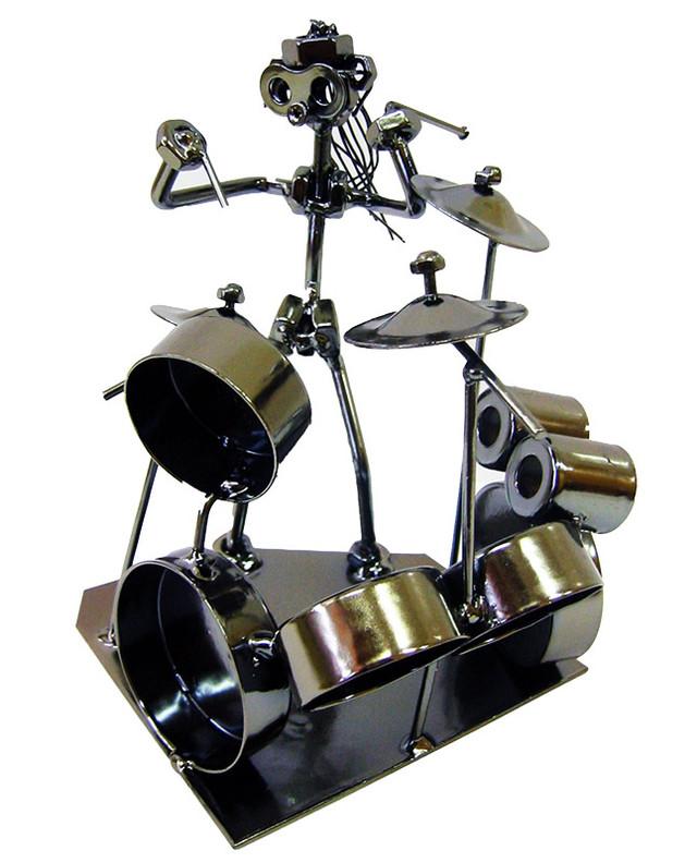 Оригинальная статуэтка барабанщика