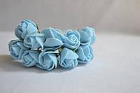 Цветок Роза  голубая