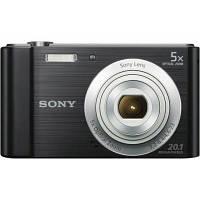 Цифровой фотоаппарат SONY Cyber-Shot W800 Black (DSCW800B.RU3), фото 1