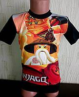 Футболка для мальчика Нинзяго, Ниндзя го. Ninjago 3D, фото 1