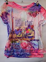 Детская модная футболка для девочек BLUELAND