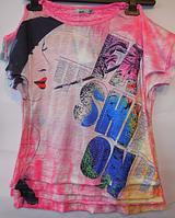 Детская футболка для девочек BLUELAND