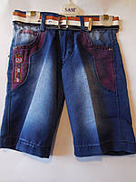 Джинсовые шорты для мальчиков, фото 1