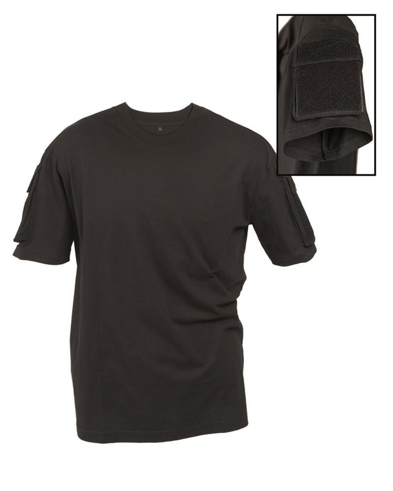 Футболка тактическая с коротким рукавом (Black) Mil Tec Sturm