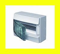 Распределительный щиток навесной ABB Mistral IP65 12M 320x250x155 клеммные блоки PE+N