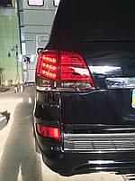 Фонари Toyota Land Cruiser 200 Стиль Lexus