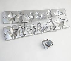 Алюмінієва форма для льодяників цукерки на паличці зірка