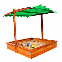 """Детская песочница с крышей-трансформером """"Казка"""", фото 1"""