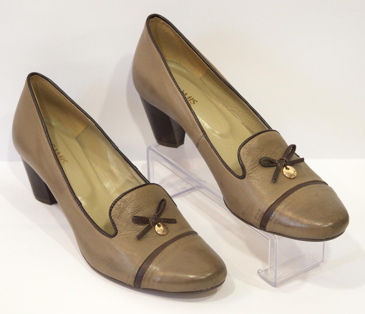 Туфли женские оливковые Gamis 1051