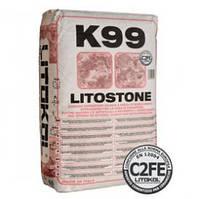 Litokol Litostone K99, 25 кг (Литостоун Клей для мрамора, керамической плитки)