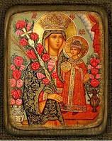 Икона православная Богородицы Неувядаемый цвет