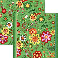 Детский ковролин цветы 2м 2,5м 3м