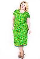 Платье Кулиса зеленое