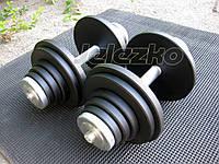 Гантели наборные Jelezko по 30 кг (от 3 до 30 кг каждая) шаг 1 кг