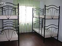 Кровать двухярусная Диана 90 х 2000 (190) металлическая