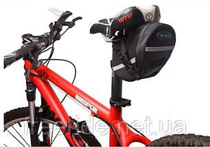 Велосумка подседельная (B-SOUL) бардачок под седло, фото 2