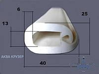 Окантовочный профиль пвх 40 мм - цвет черный