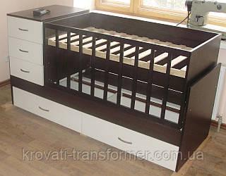 Детская кровать трансформер Maxi