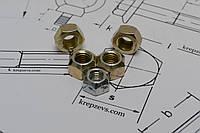 Гайка самоконтрящаяся М6 DIN 980 шестигранная