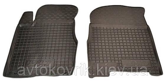 Полиуретановые передние коврики в салон Honda CR-V III 2007-2011 (AVTO-GUMM)