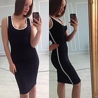 Платье женское Мия черное , летние платья
