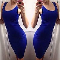 Платье женское Ангел темно синее , женская одежда