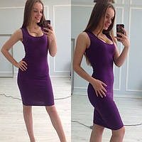 Платье женское Мириам фиолетовое , женская одежда