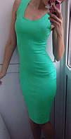 Платье женское Ангел мятное , летние платья