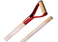Ручка для лопаты железная.