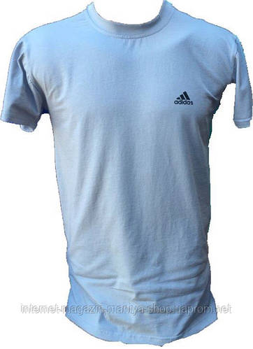 Мужская спортивная футболка с лампасами на плечах