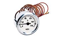 Pak 60/200/2m  — Термометр капиллярный d=60мм, 200˚С, длина трубки 2000мм, класс точности KL 2,0, фото 1