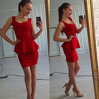 Платье женское Жарди красное , женская одежда