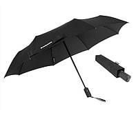 Зонт автоматический телескопический черный WENGER W1102
