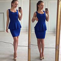 Платье женское Жарди синее , женская одежда