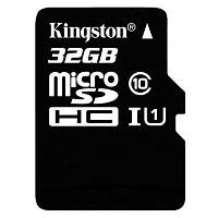 Карта памяти Kingston 32GB microSDHC Class 10 UHS-I (SDC10G2/32GB)