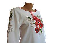 Украинские женские вышиванки  льон, підліток