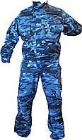 Костюм охранника, для спецподразделений и мобильных групп(Комбат-ВСУ синий город)